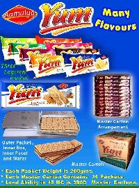 Yum Cream Wafers / Wafer Biscuits