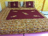 Patch Work Cotton Bedsheet