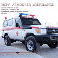 Armoured Ambulance Vehicles
