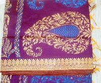 Fancy Poly Cotton Sarees