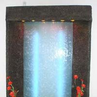 Frp Glass Wall Water Fountain