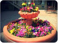 Designer Flower Fountain