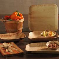 Areca Leaf Plates - Leaf Plates - Areca Plates - Natural plates
