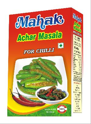 Achar Masala for chili pickles