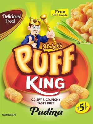 Rice Corn Puff  Pudina snack