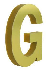 Acrylic Brass Letter