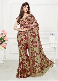 Indian Silk House Agencies Offering  Latest Printed Silk Saree