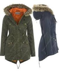 Ladies Hooded Coats