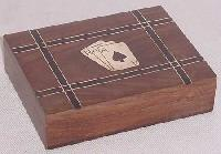 Wooden Playing Card Holder 05