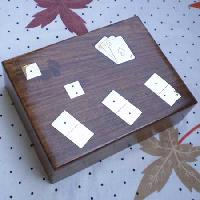 Wooden Playing Card Holder 06