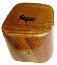 Wooden Sugar Container