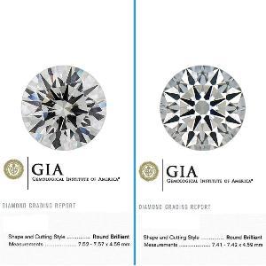 GIA Certified Loose Diamonds