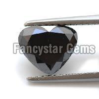 15.00 Carat Heart Cut Black Diamond lot