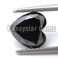 20.00 Carat Heart Cut Black Diamond Lot For Sale