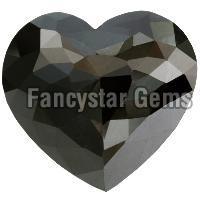 5.00 Carat Heart rose Cut Black Diamond bulk sale