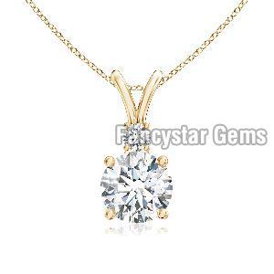 925 Silver Diamond Pendants