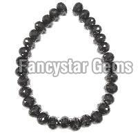 Black Briolettes Diamond Beads