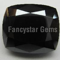 Black Cushion Cut Diamond