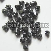 Black Loose Diamond Beads