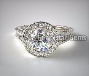 Genuine Moissanite Engagement Rings