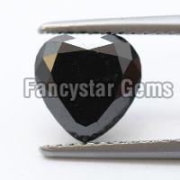 High Quality 30.00 Carat Heart Cut Black Diamond sale