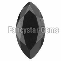 High Quality 30.00 Carat Marquise Cut Black Diamond sale