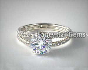 Moissanite Rings