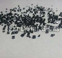 Super Quality 25.00 Carat Princess Cut Black Diamond lots