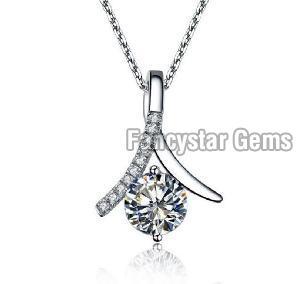 White Gold Diamond Pendants