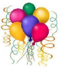Birthday Rubber Balloons - 02