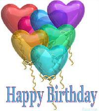 Birthday Rubber Balloons - 03