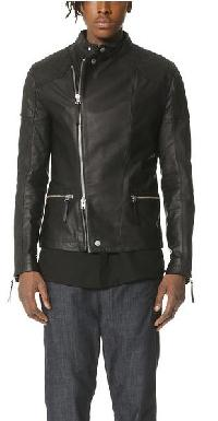 Cool Black Zipper Jacket
