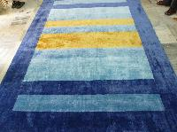 Loomknotted Viscose Carpets