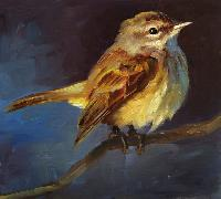 birds oil paintings