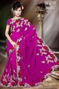 Dyed Saree
