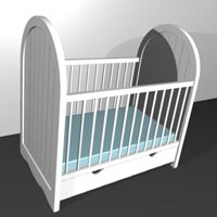 Hospital Baby Beds