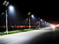 outdoor solar street lights