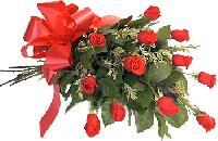 An Exotic Bunch Of Around 50 Red Roses