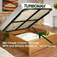 Bed Frame With Gas Lifter