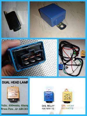 Dual Head Lamp Relay
