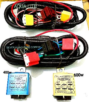 Dual Head Lamp Relay Wiring Harness