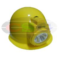Safety Helmet With Head Lamp
