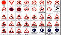 Road Traffic Sign Boards