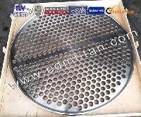 Cdm Titanium Clad (steel) Tube Sheet,titanium Sheet,titanium Plate