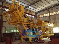 Tractor Concrete Batching Plant