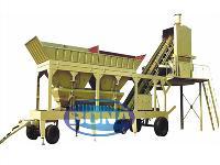 Yhzs Mobile Concrete Batching Plant