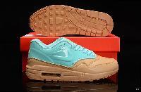 Wholesale Nike Aaa Air Max 87 Women Light Green Golden Shoes