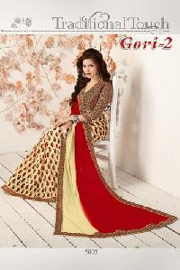 Exclusive Printed Saree 3