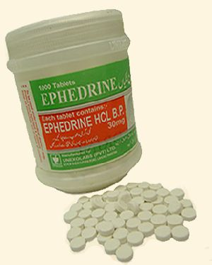 Ephedrine HCL Tablets