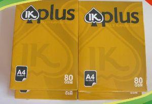 IK Plus A4 Copy Paper